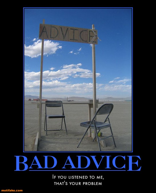 Shauna Moerke Is 187 Blog Archive 187 Bad Advice